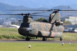 つっさんさんが、八尾空港で撮影した陸上自衛隊 CH-47Jの航空フォト(飛行機 写真・画像)