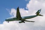 delawakaさんが、シンガポール・チャンギ国際空港で撮影したキャセイパシフィック航空 A330-343Xの航空フォト(写真)