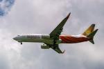 delawakaさんが、シンガポール・チャンギ国際空港で撮影したエア・インディア・エクスプレス 737-8HJの航空フォト(写真)