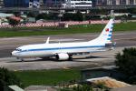 HLeeさんが、台北松山空港で撮影した中華民国空軍 737-8ARの航空フォト(写真)