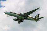delawakaさんが、シンガポール・チャンギ国際空港で撮影したシンガポール航空 777-212/ERの航空フォト(写真)