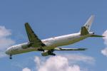 delawakaさんが、シンガポール・チャンギ国際空港で撮影したシンガポール航空 777-312の航空フォト(写真)