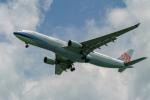 delawakaさんが、シンガポール・チャンギ国際空港で撮影したチャイナエアライン A330-302の航空フォト(写真)