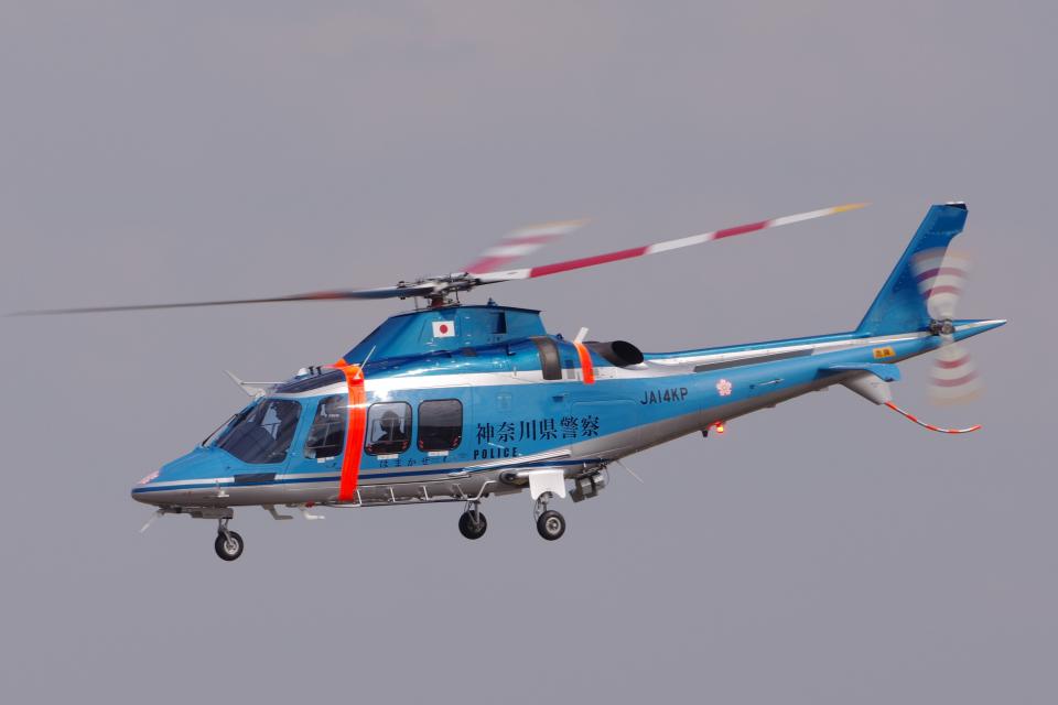 yabyanさんの神奈川県警察 AgustaWestland AW109 (JA14KP) 航空フォト