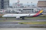 Izumixさんが、羽田空港で撮影したアシアナ航空 A330-323Xの航空フォト(写真)