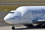 ひこ☆さんが、中部国際空港で撮影したボーイング 747-409(LCF) Dreamlifterの航空フォト(写真)