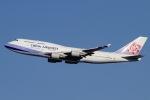 しま。さんが、成田国際空港で撮影したチャイナエアライン 747-409の航空フォト(写真)
