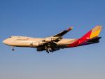 Mame @ TYOさんが、成田国際空港で撮影したアシアナ航空 747-48EF/SCDの航空フォト(写真)