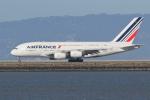 sumihan_2010さんが、サンフランシスコ国際空港で撮影したエールフランス航空 A380-861の航空フォト(写真)