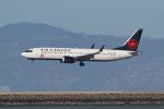 sumihan_2010さんが、サンフランシスコ国際空港で撮影したエア・カナダ 737-8-MAXの航空フォト(写真)