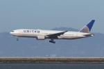 sumihan_2010さんが、サンフランシスコ国際空港で撮影したユナイテッド航空 777-222/ERの航空フォト(写真)