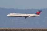 sumihan_2010さんが、サンフランシスコ国際空港で撮影したデルタ航空 717-231の航空フォト(写真)