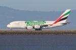 sumihan_2010さんが、サンフランシスコ国際空港で撮影したエミレーツ航空 A380-861の航空フォト(写真)
