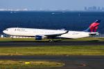 Flankerさんが、羽田空港で撮影したデルタ航空 A330-302の航空フォト(写真)