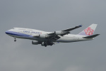 神宮寺ももさんが、台湾桃園国際空港で撮影したチャイナエアライン 747-409の航空フォト(写真)