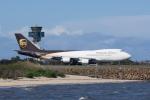 かずまっくすさんが、シドニー国際空港で撮影したUPS航空 747-44AF/SCDの航空フォト(写真)