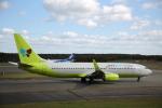 ATOMさんが、新千歳空港で撮影したジンエアー 737-8SHの航空フォト(写真)