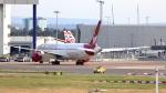 誘喜さんが、ロンドン・ヒースロー空港で撮影したヴァージン・アトランティック航空 787-9の航空フォト(写真)