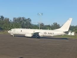 Guwapoさんが、クラーク国際空港で撮影したアメリカ海軍 P-8A (737-8FV)の航空フォト(飛行機 写真・画像)