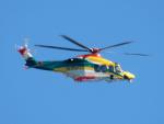 ウインビークラブさんが、八尾空港で撮影した朝日航洋 AW139の航空フォト(写真)