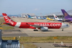 水月さんが、関西国際空港で撮影したタイ・エアアジア・エックス A330-300の航空フォト(写真)
