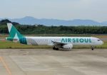 じーく。さんが、長崎空港で撮影したエアソウル A321-231の航空フォト(写真)