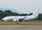 じーく。さんが、長崎空港で撮影したグローバル・ジェット・オーストリア 737-7HE BBJの航空フォト(写真)