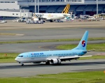 ザキヤマさんが、福岡空港で撮影した大韓航空 737-9B5の航空フォト(写真)