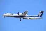 徳兵衛さんが、伊丹空港で撮影したANAウイングス DHC-8-402Q Dash 8の航空フォト(写真)