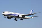 徳兵衛さんが、伊丹空港で撮影した全日空 777-281の航空フォト(写真)