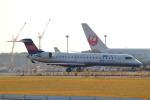 funi9280さんが、新千歳空港で撮影したアイベックスエアラインズ CL-600-2C10 Regional Jet CRJ-702の航空フォト(飛行機 写真・画像)