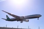 スカイチームKMJ なぁちゃんさんが、成田国際空港で撮影したエバー航空 777-3SH/ERの航空フォト(写真)