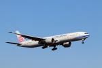 funi9280さんが、新千歳空港で撮影したチャイナエアライン 777-309/ERの航空フォト(飛行機 写真・画像)