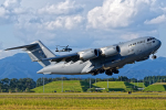 いっち〜@RJFMさんが、新田原基地で撮影したアメリカ空軍 C-17A Globemaster IIIの航空フォト(写真)