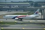 たっしーさんが、クアラルンプール国際空港で撮影したマレーシア航空 737-8H6の航空フォト(写真)