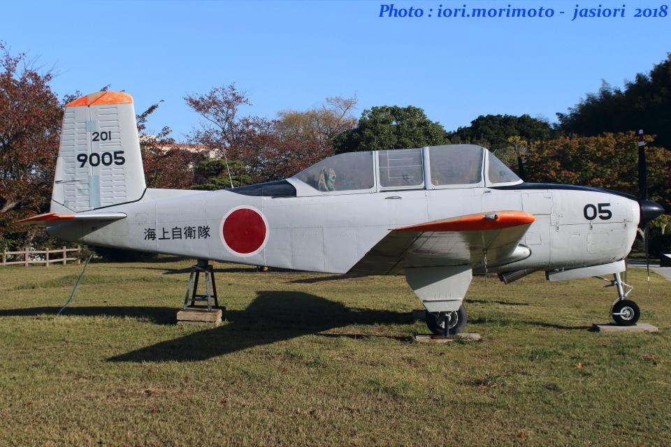 いおりさんの海上自衛隊 Fuji T-34 (9005) 航空フォト