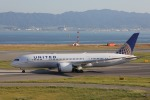 OS52さんが、関西国際空港で撮影したユナイテッド航空 787-8 Dreamlinerの航空フォト(写真)