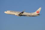 tsubameさんが、福岡空港で撮影した日本トランスオーシャン航空 737-8Q3の航空フォト(写真)