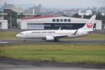 kumagorouさんが、宮崎空港で撮影した日本航空 737-846の航空フォト(飛行機 写真・画像)