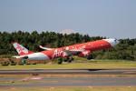 ☆ライダーさんが、成田国際空港で撮影したタイ・エアアジア・エックス A330-343Eの航空フォト(写真)