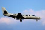 kazuchiyanさんが、岩国空港で撮影したアメリカ海兵隊 UC-35D Citation Encore (560)の航空フォト(写真)