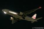 遠森一郎さんが、福岡空港で撮影した日本航空 777-246/ERの航空フォト(写真)