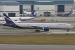 たみぃさんが、香港国際空港で撮影したアエロフロート・ロシア航空 777-3M0/ERの航空フォト(写真)