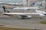 たみぃさんが、香港国際空港で撮影したシンガポール航空 777-212/ERの航空フォト(写真)