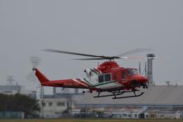 けんちゃんさんが、宇都宮飛行場で撮影した仙台市消防航空隊 412EPの航空フォト(飛行機 写真・画像)