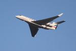 OMAさんが、羽田空港で撮影したウィルミントン・トラスト・カンパニー G650 (G-VI)の航空フォト(飛行機 写真・画像)
