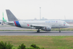 KIMISTONERさんが、台湾桃園国際空港で撮影したカンボジア・エアウェイズ A319-112の航空フォト(写真)