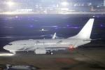 臨時特急7032Mさんが、福岡空港で撮影したグローバル・ジェット・オーストリア 737-7HE BBJの航空フォト(写真)