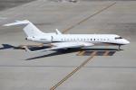 OMAさんが、羽田空港で撮影したウェルズ・ファーゴ・バンク・ノースウェスト BD-700 Global Express/5000/6000の航空フォト(飛行機 写真・画像)