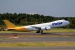 ☆ライダーさんが、成田国際空港で撮影したポーラーエアカーゴ 747-87UF/SCDの航空フォト(写真)